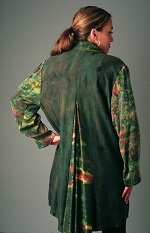 Romantic Silk Jacket